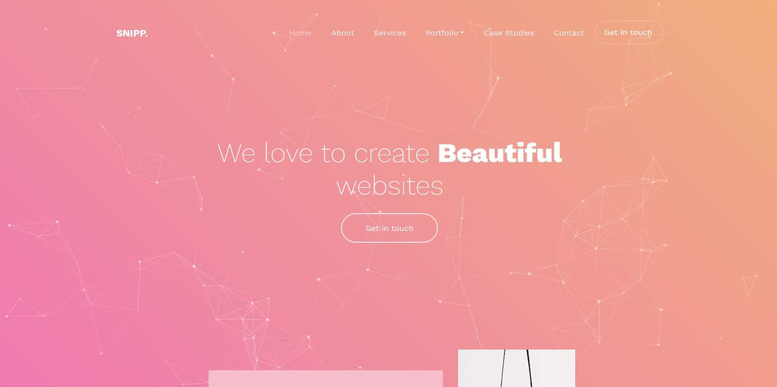 snipp-beautiful-website-template
