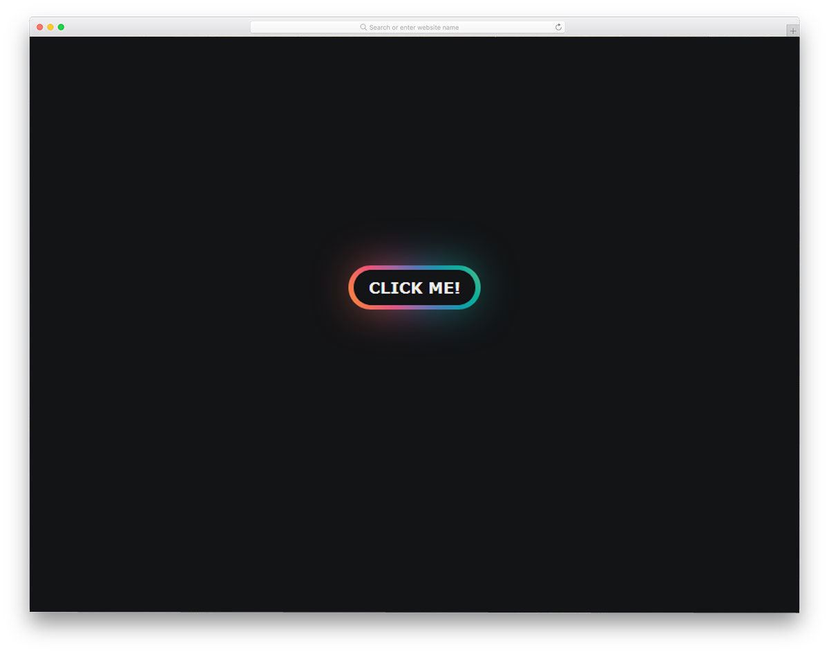 gradient glow button