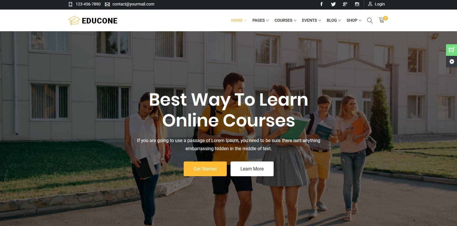 educone-education-website-template
