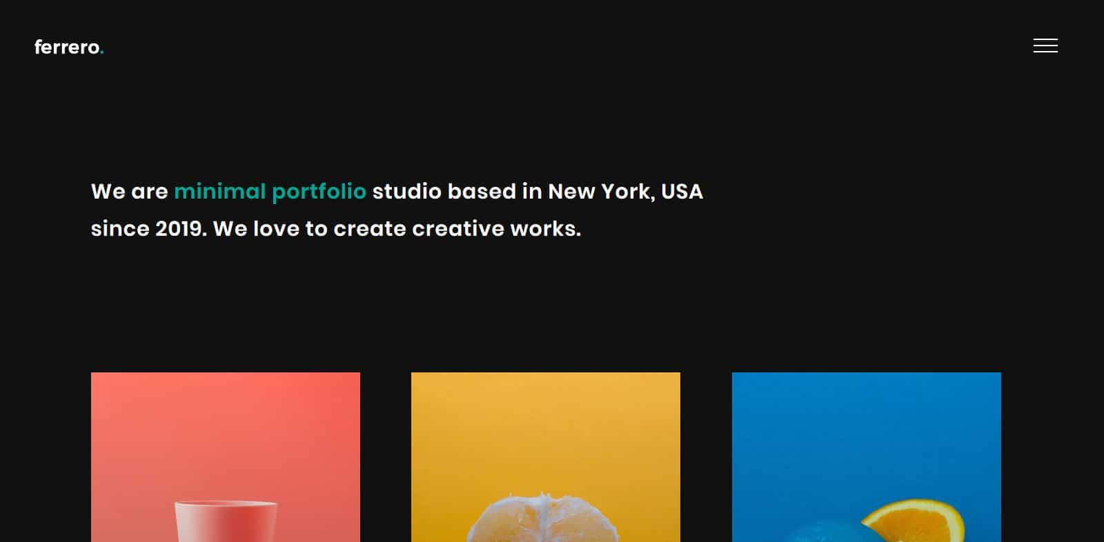 ferrero-simple-website-template