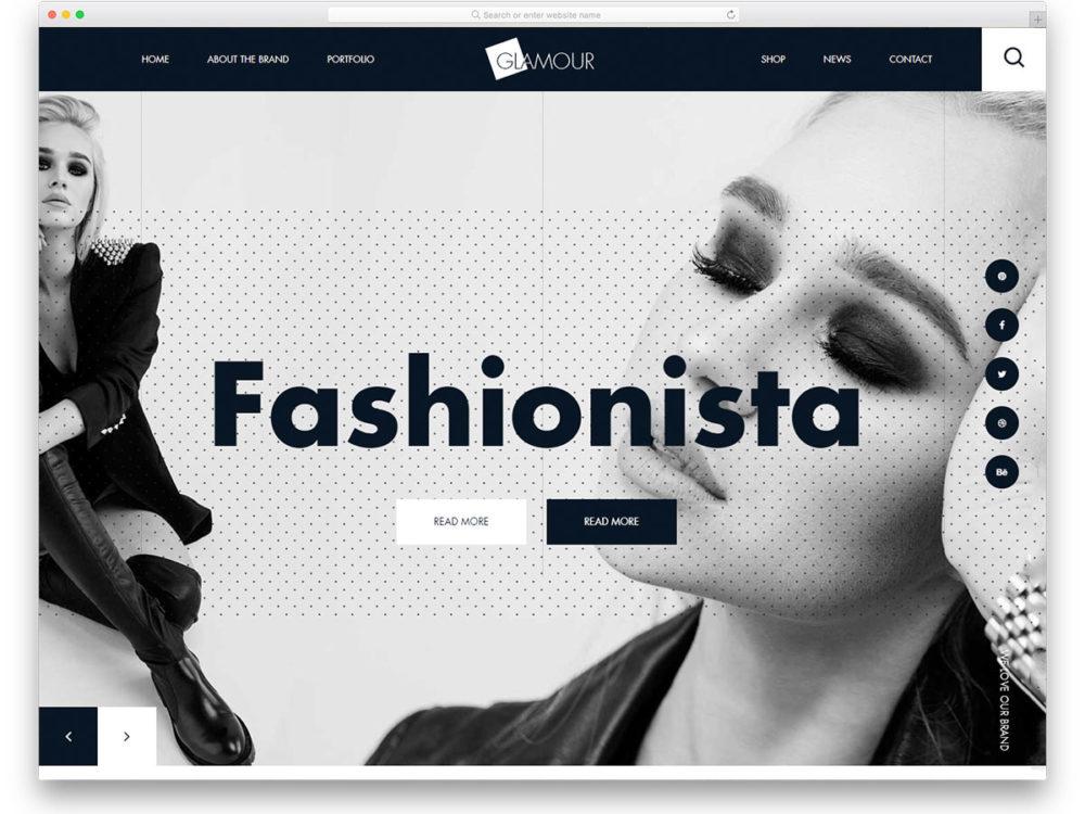 41 Best Free Fashion Website Templates With Vogue Design 2021
