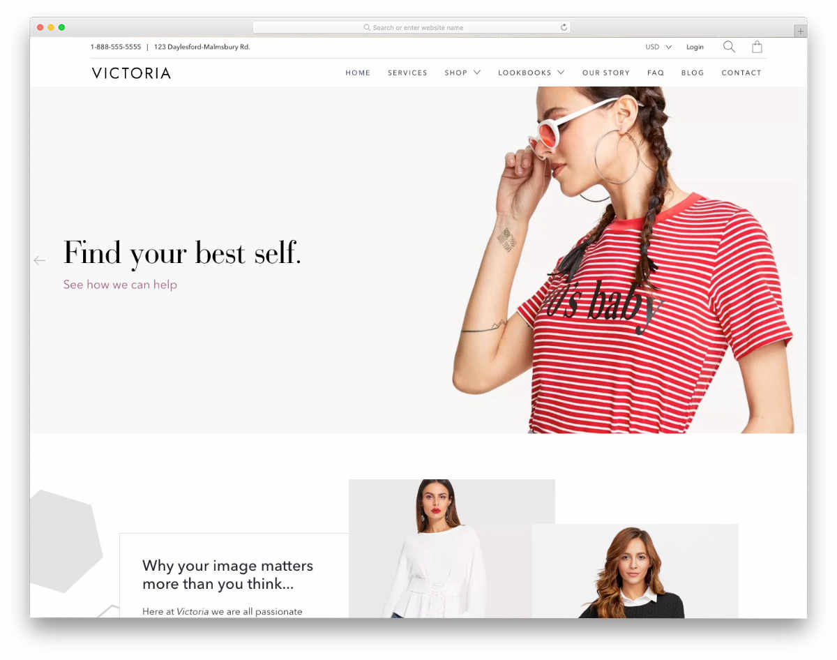 Shopify Bootstrap Themes with artistic look