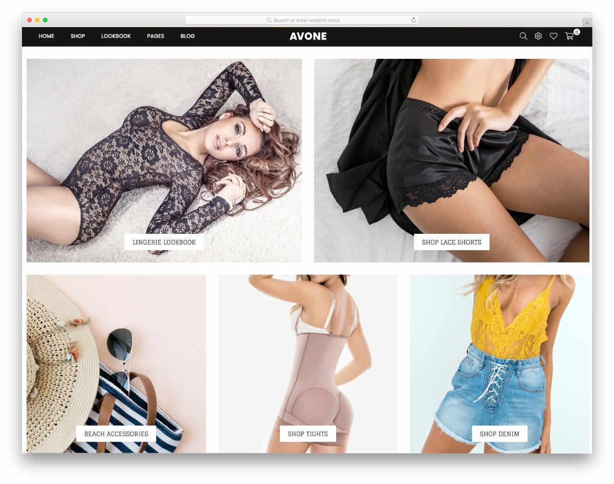image-rich shopify theme