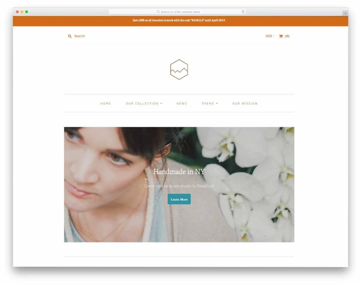 brand focused minimal Shopify themes