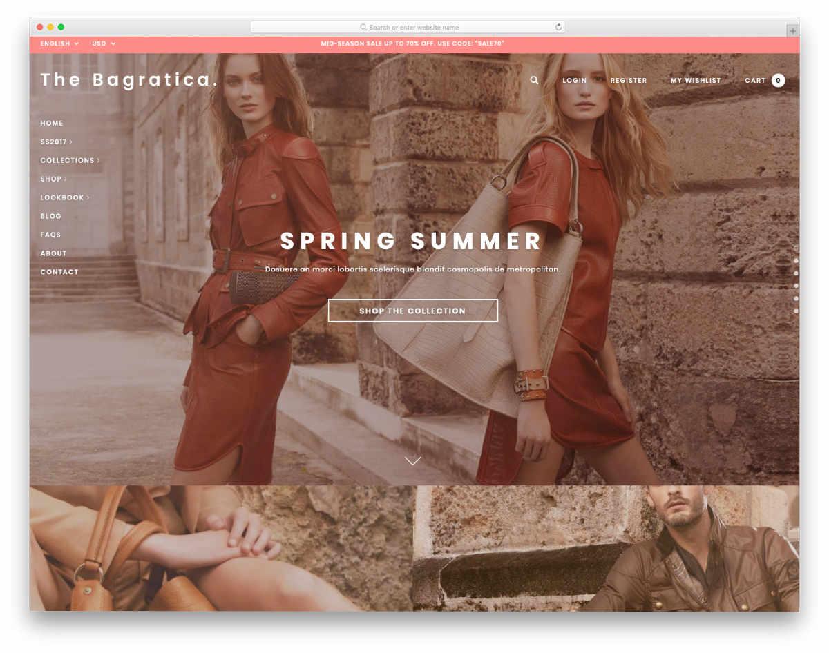 beautfiul Shopify Bootstrap Themes