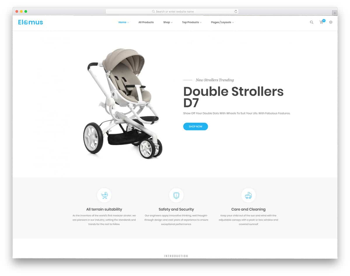 single product Shopify themes with multiple demos