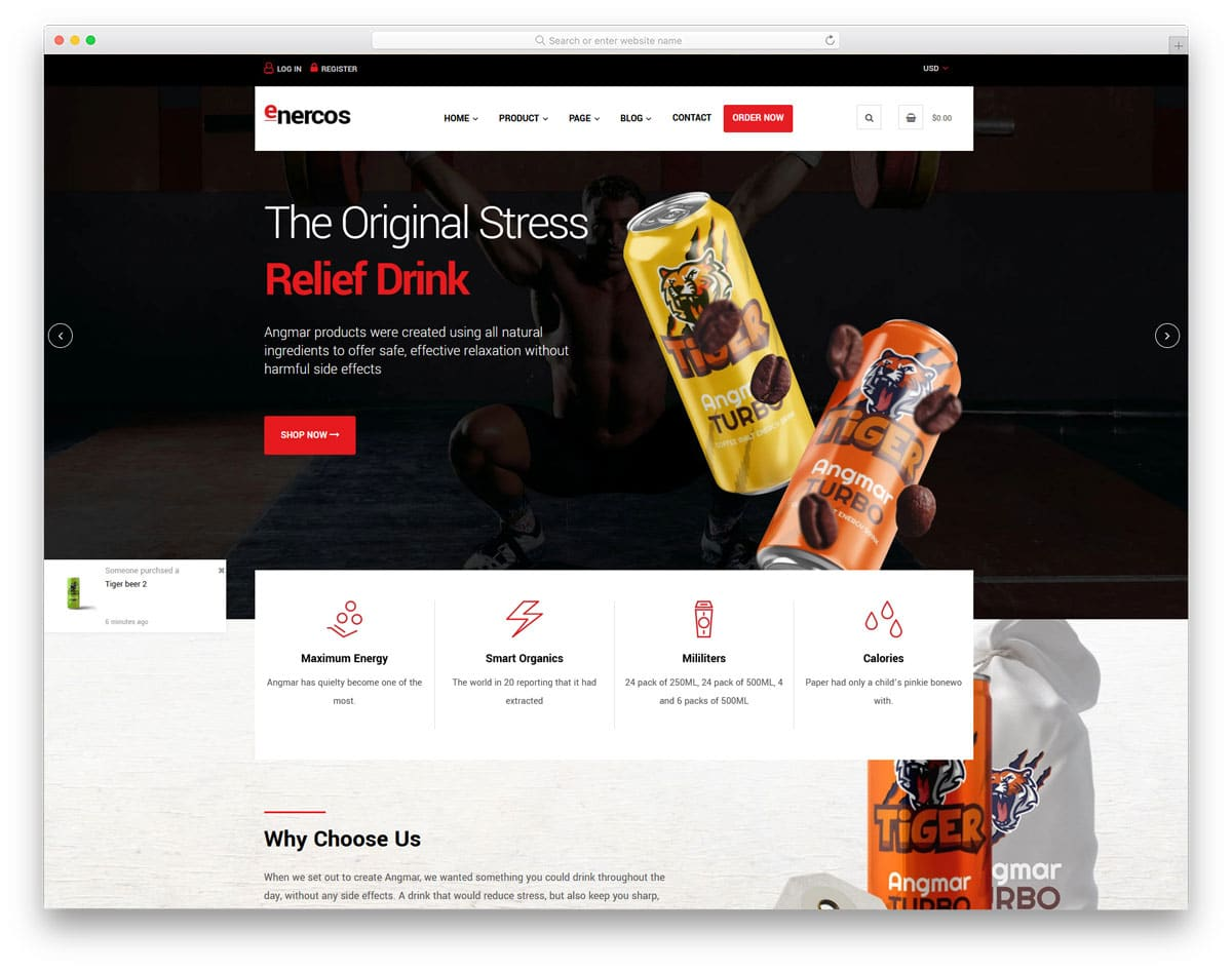 pure single product shopify themes