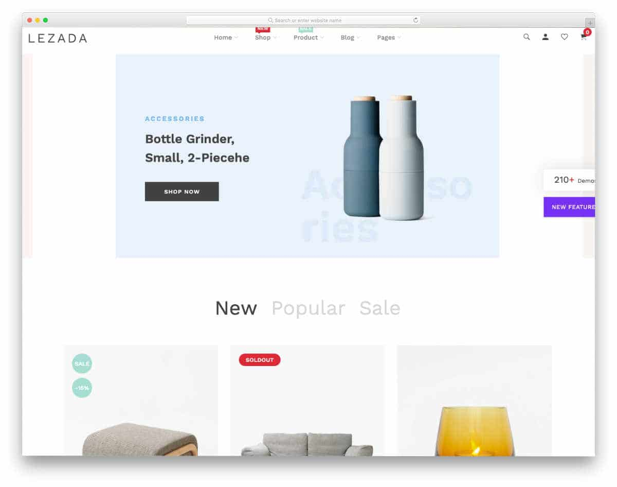 simple Shopify themes to elegantly showcase your products