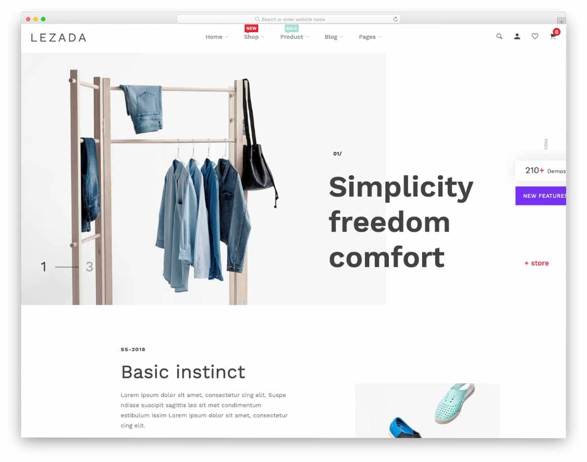 subscription shopify themes for fashion stores