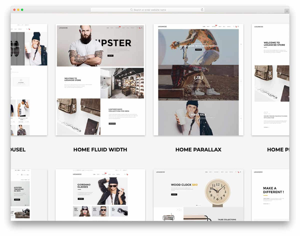 minimal design shopify themes