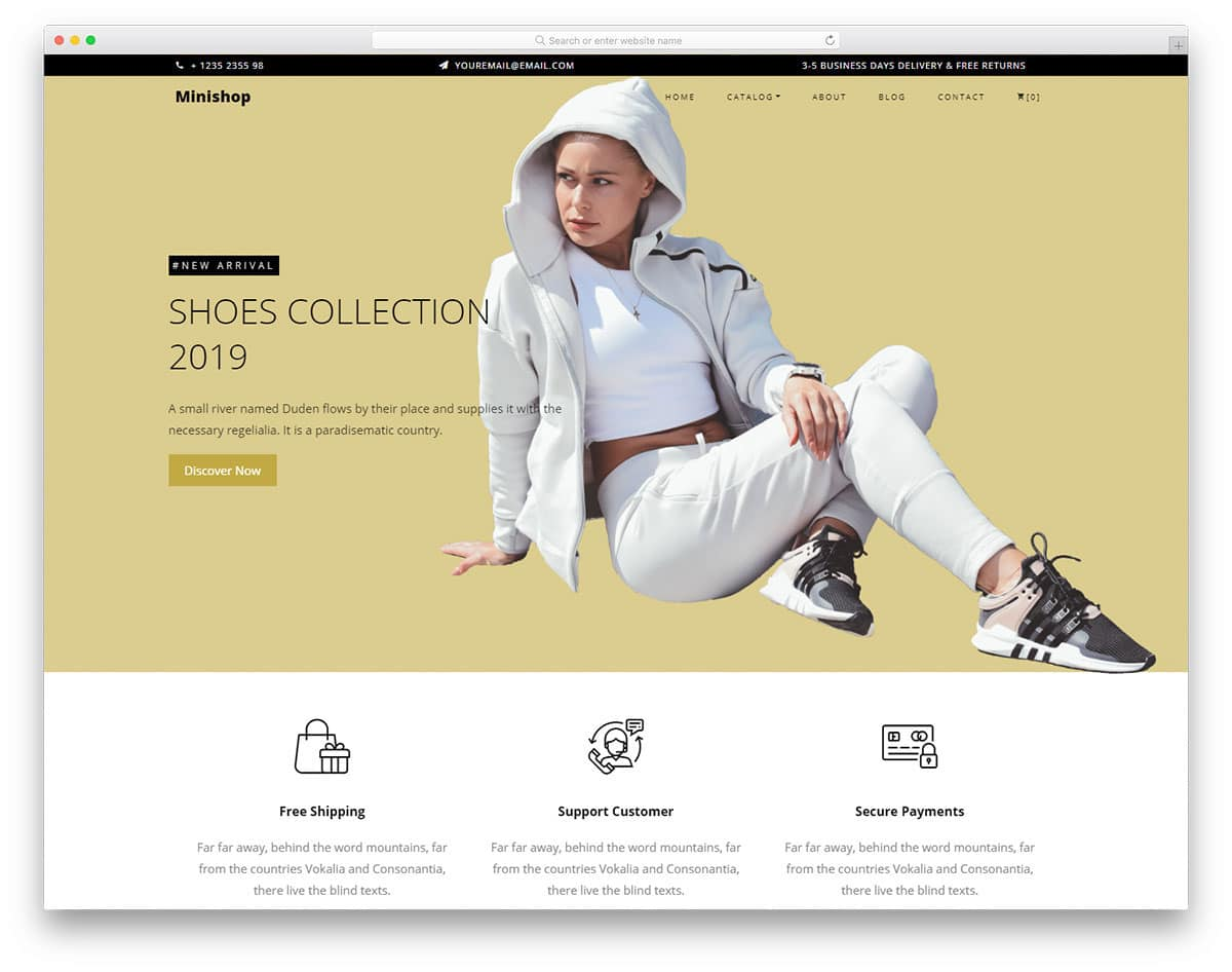 feature-rich website template