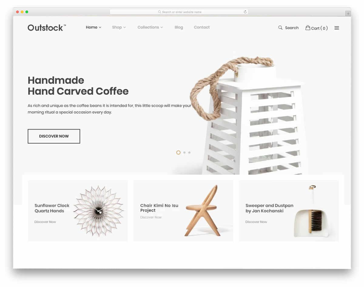 minimal Shopify themes with useful features