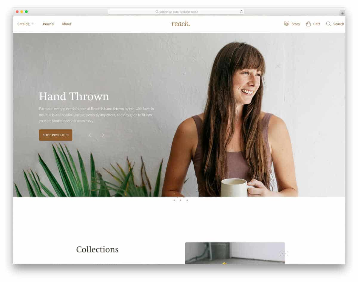 brand-focused shopify theme