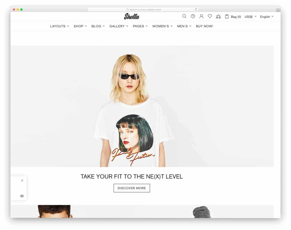subscription shopify themes for apparel stores