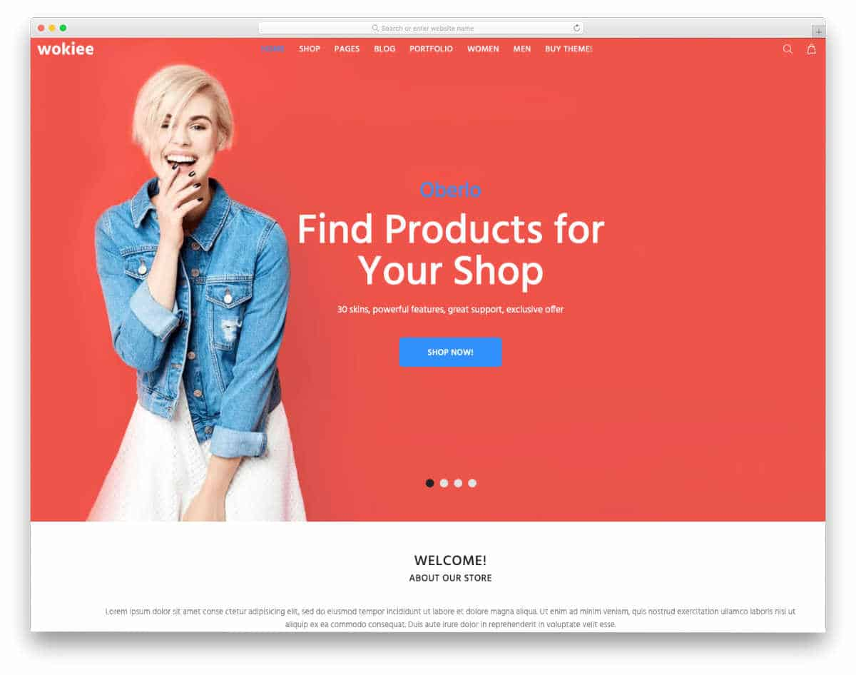 Shopify Bootstrap Themes with multiple demos