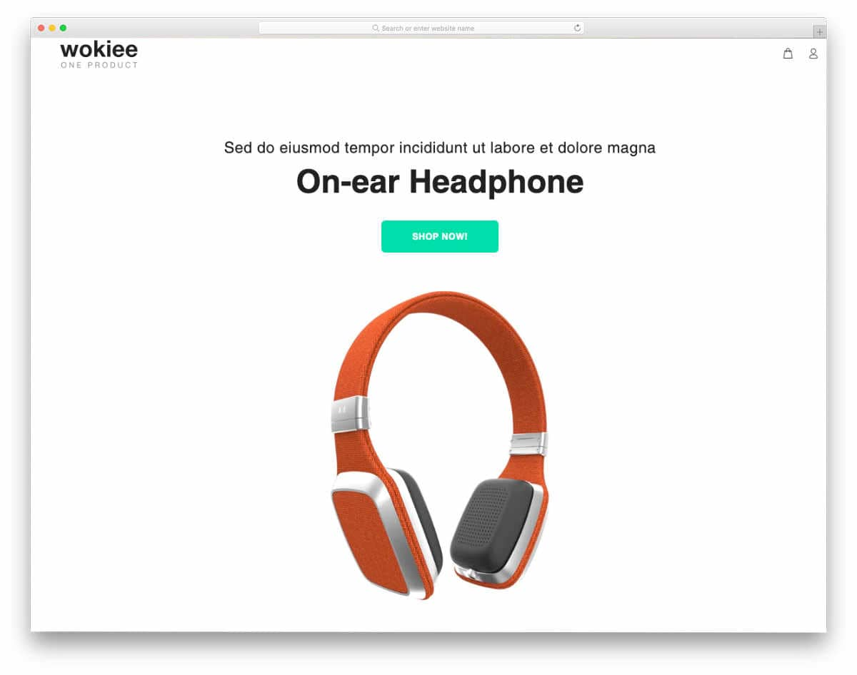 shopify theme with useful options