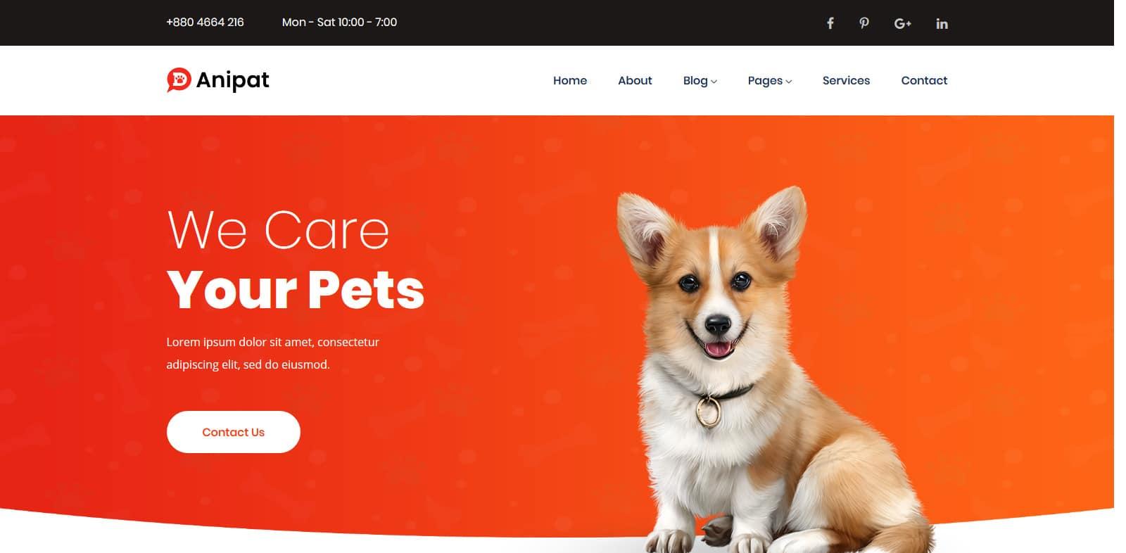 anipat-animal-website-template