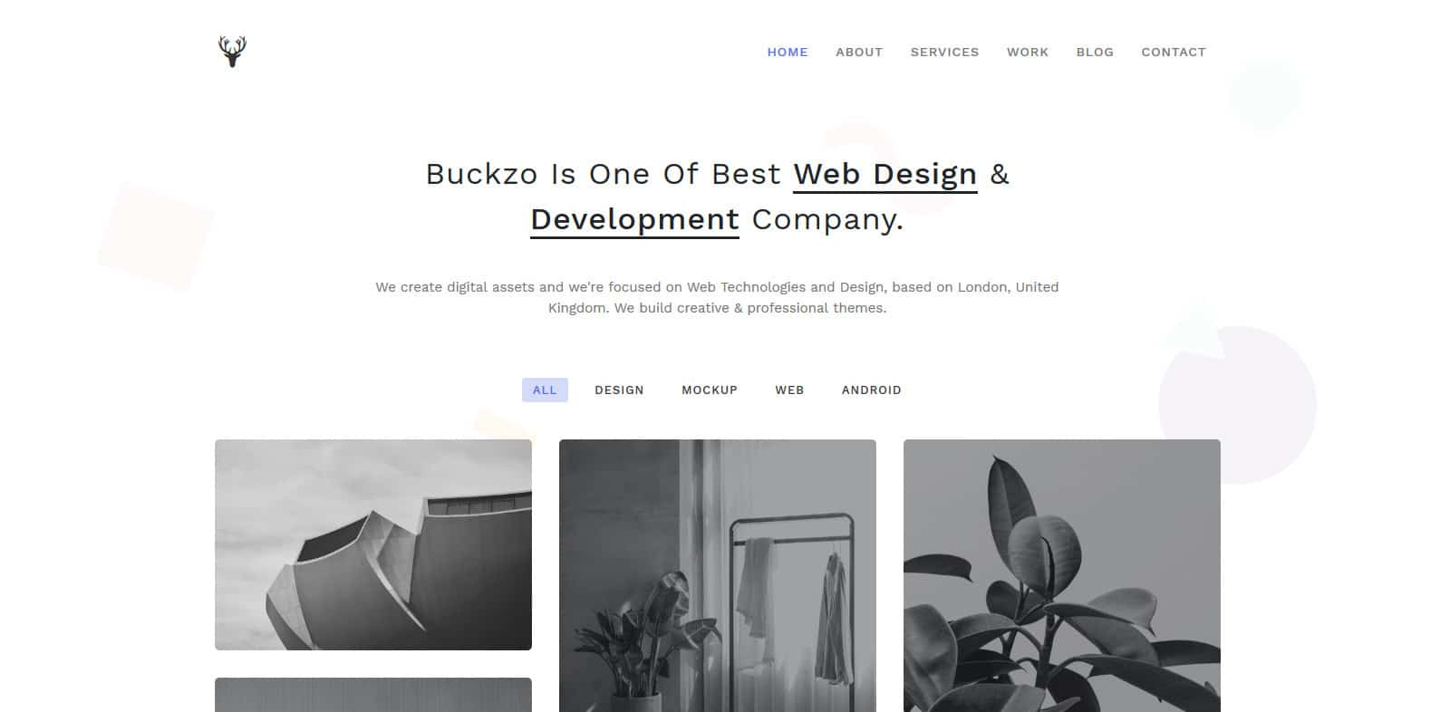 buckzo-simple-website-template