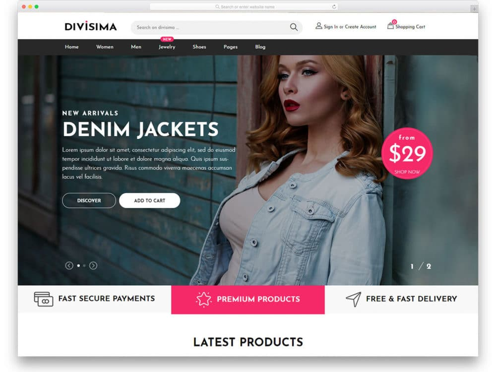 free-ecommerce-website-templates-featured-image