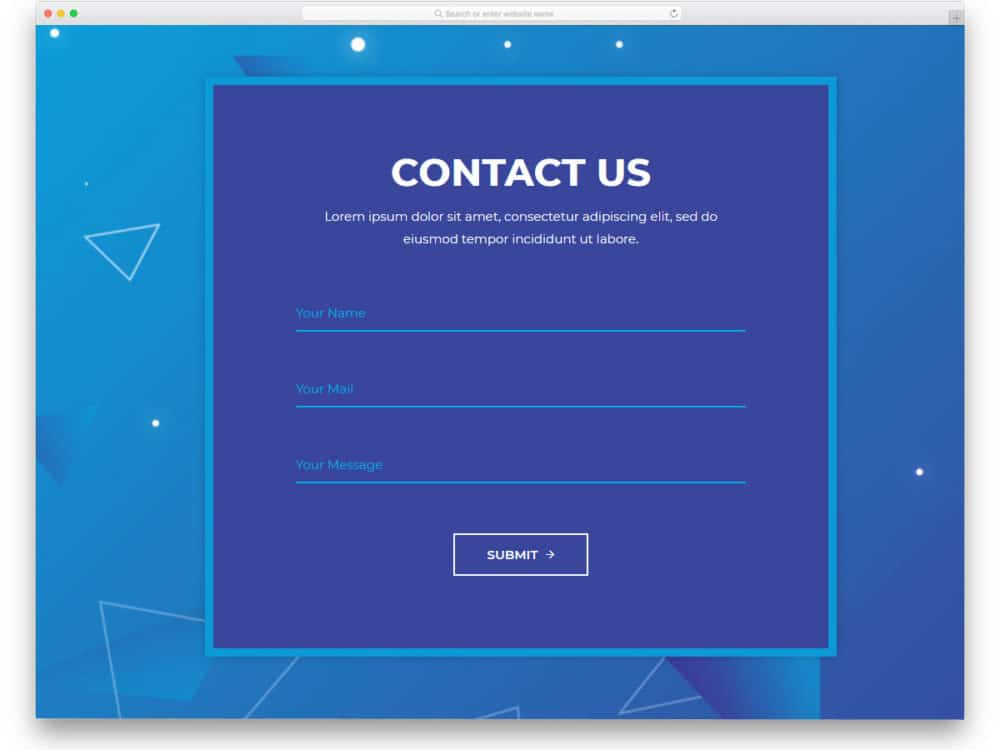 35 Best Free Html Contact Forms With Fresh New Designs 2020