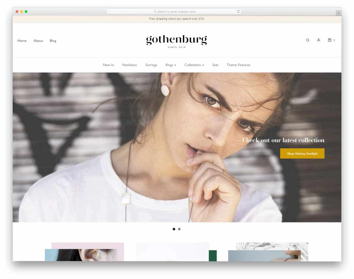 responsive Shopify jewelry themes