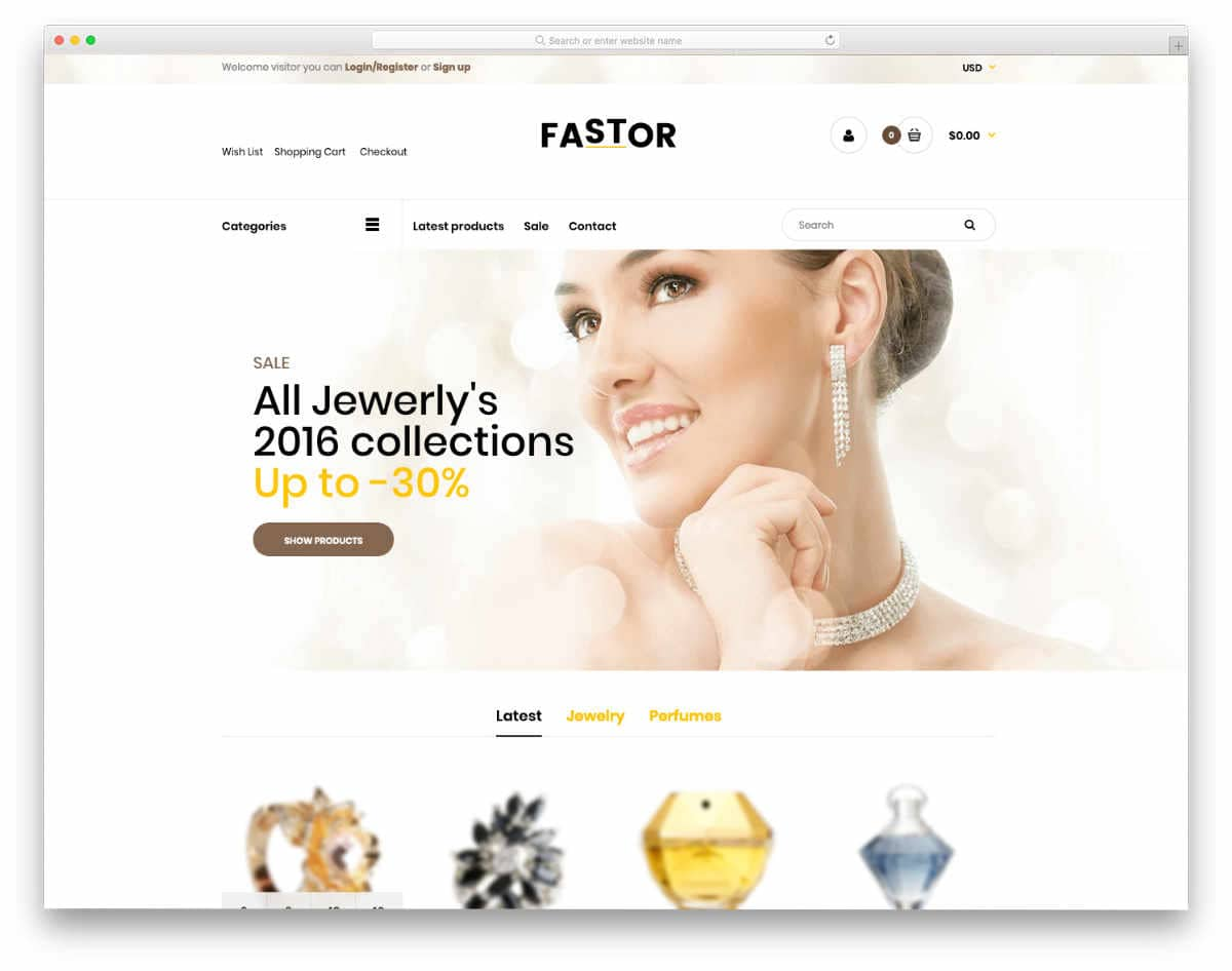 Shopify jewelry themes with easy customization options