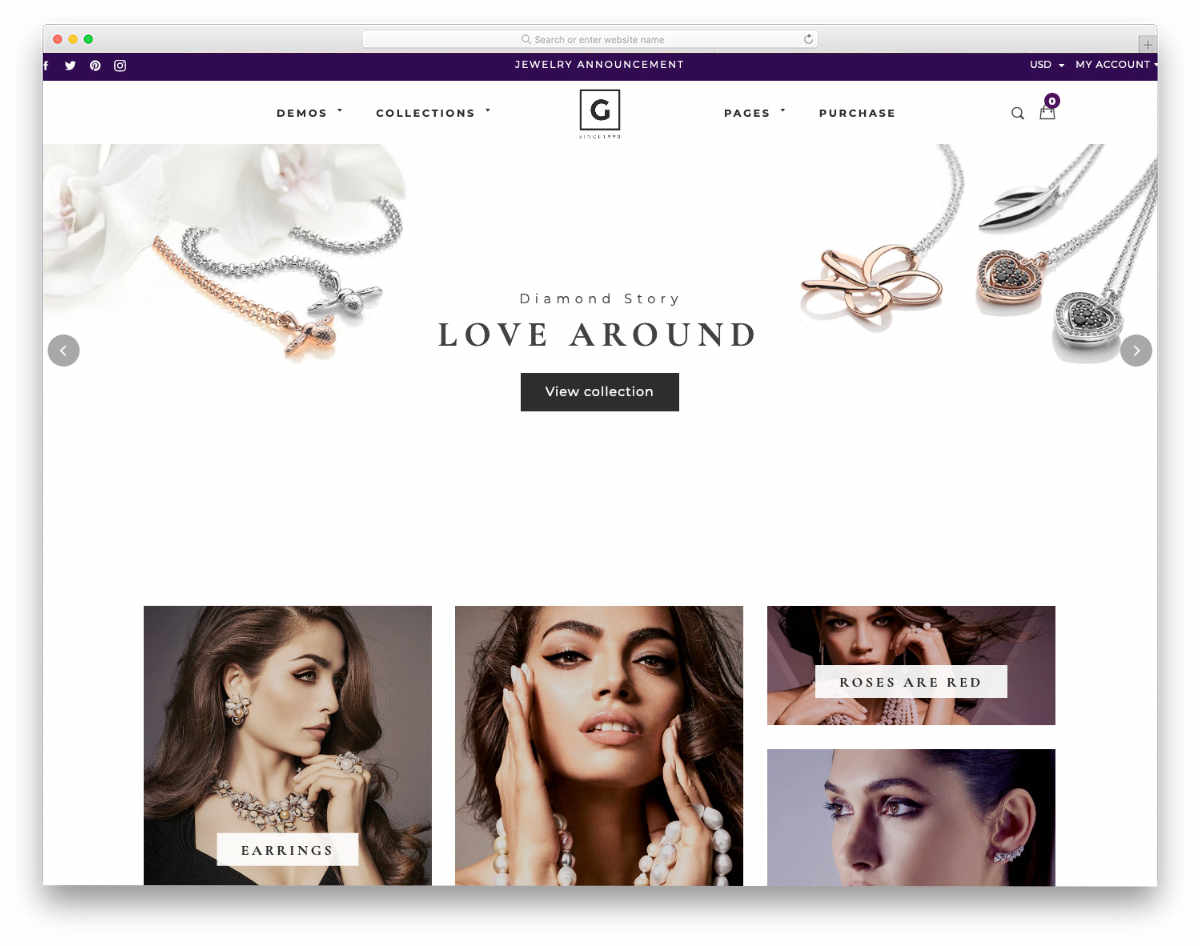 shopify theme with useful features