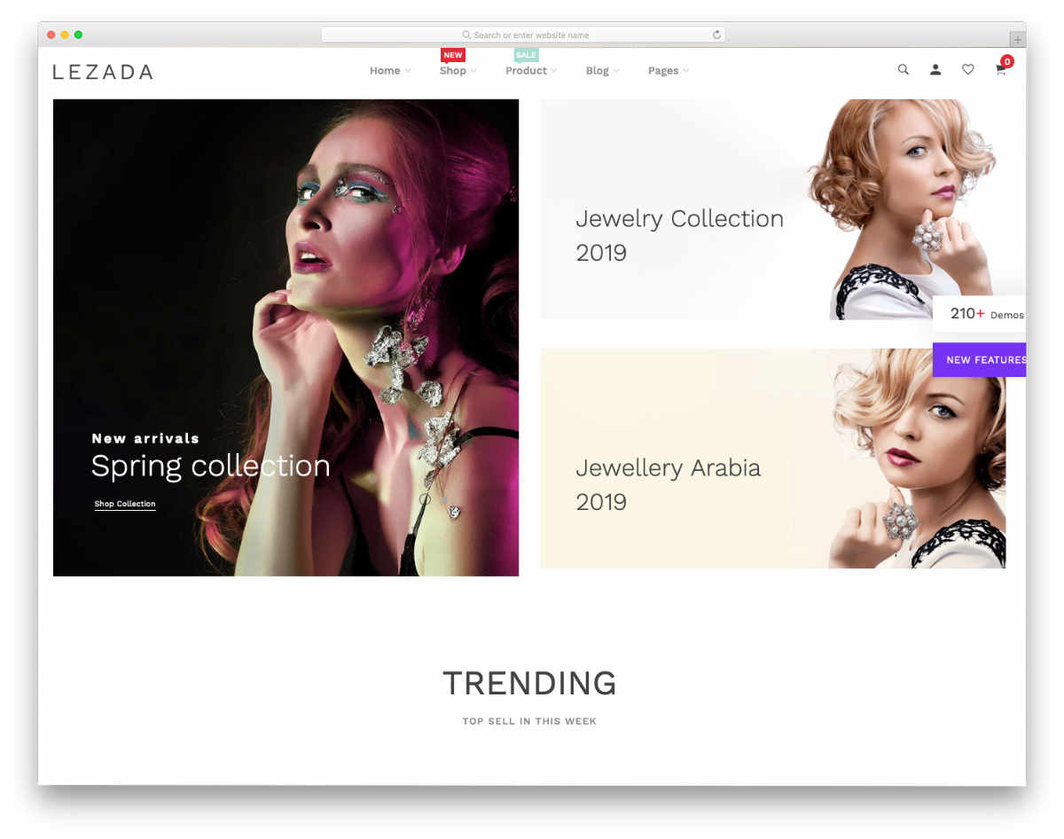 colorful and attractive Shopify jewelry themes