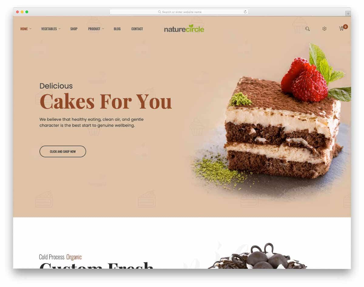 bakery shopify theme