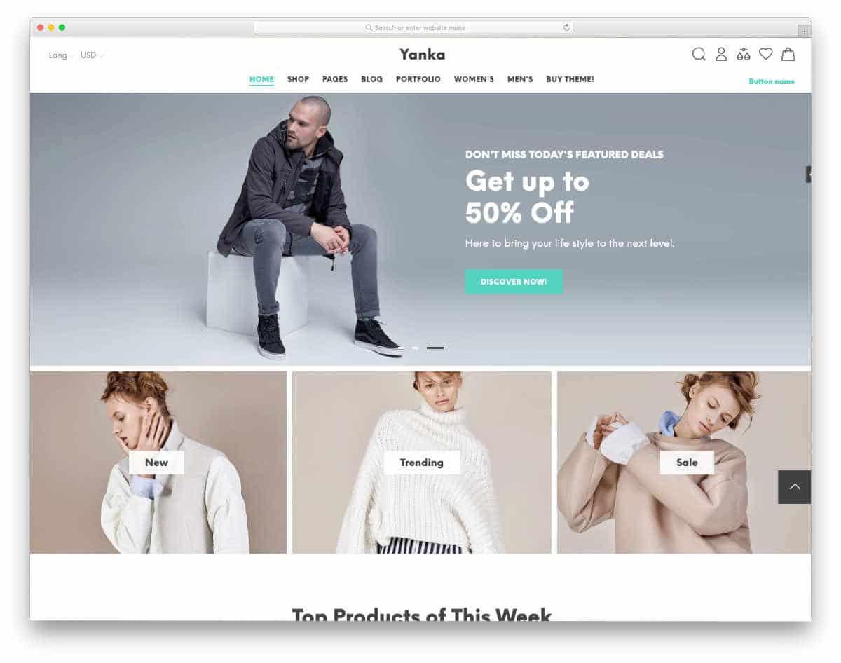 easy-to-customize Shopify theme