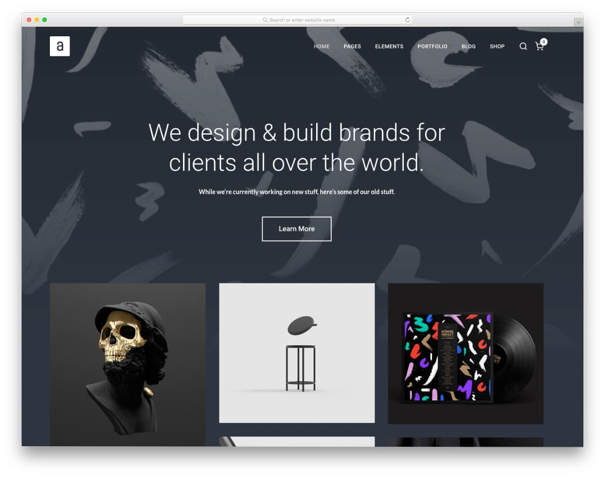 bootstrap studio templates with portfolio
