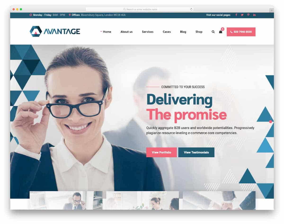 java websites templates for consultancy business websites
