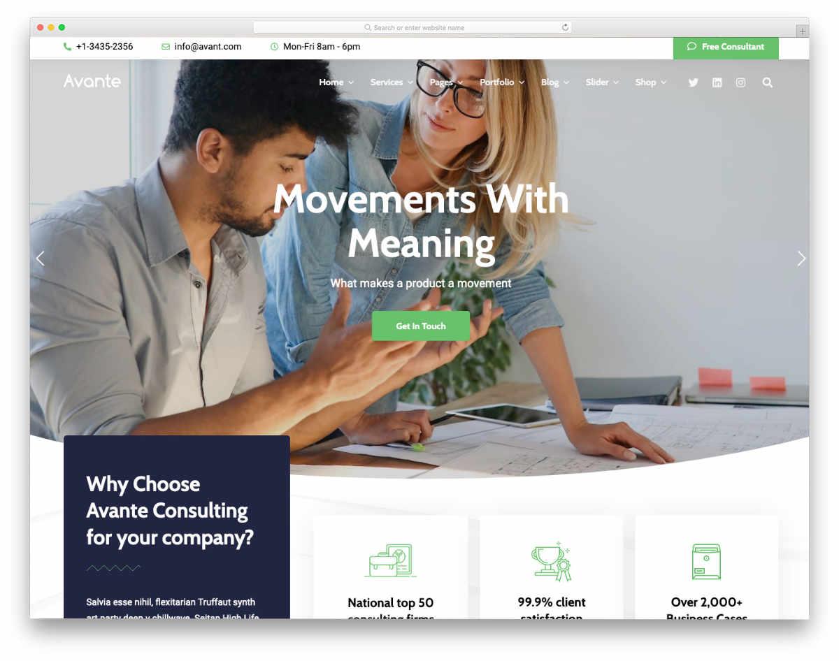 website header design templates for modern corporates