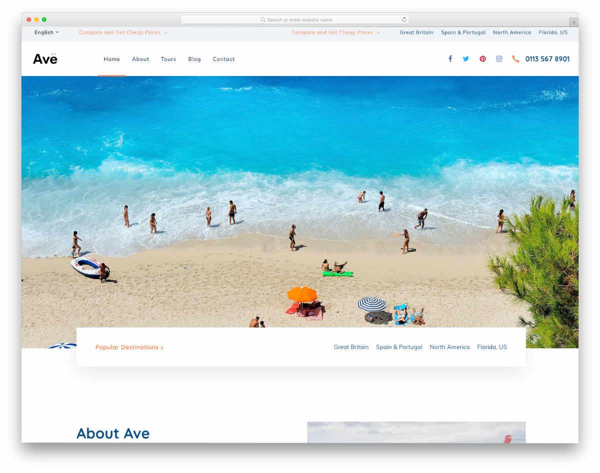 creative multipurpose website template