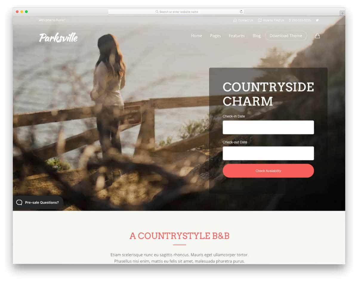 appointment scheduling website templates for hotels