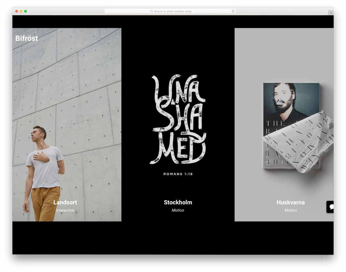 website template for creative professionals