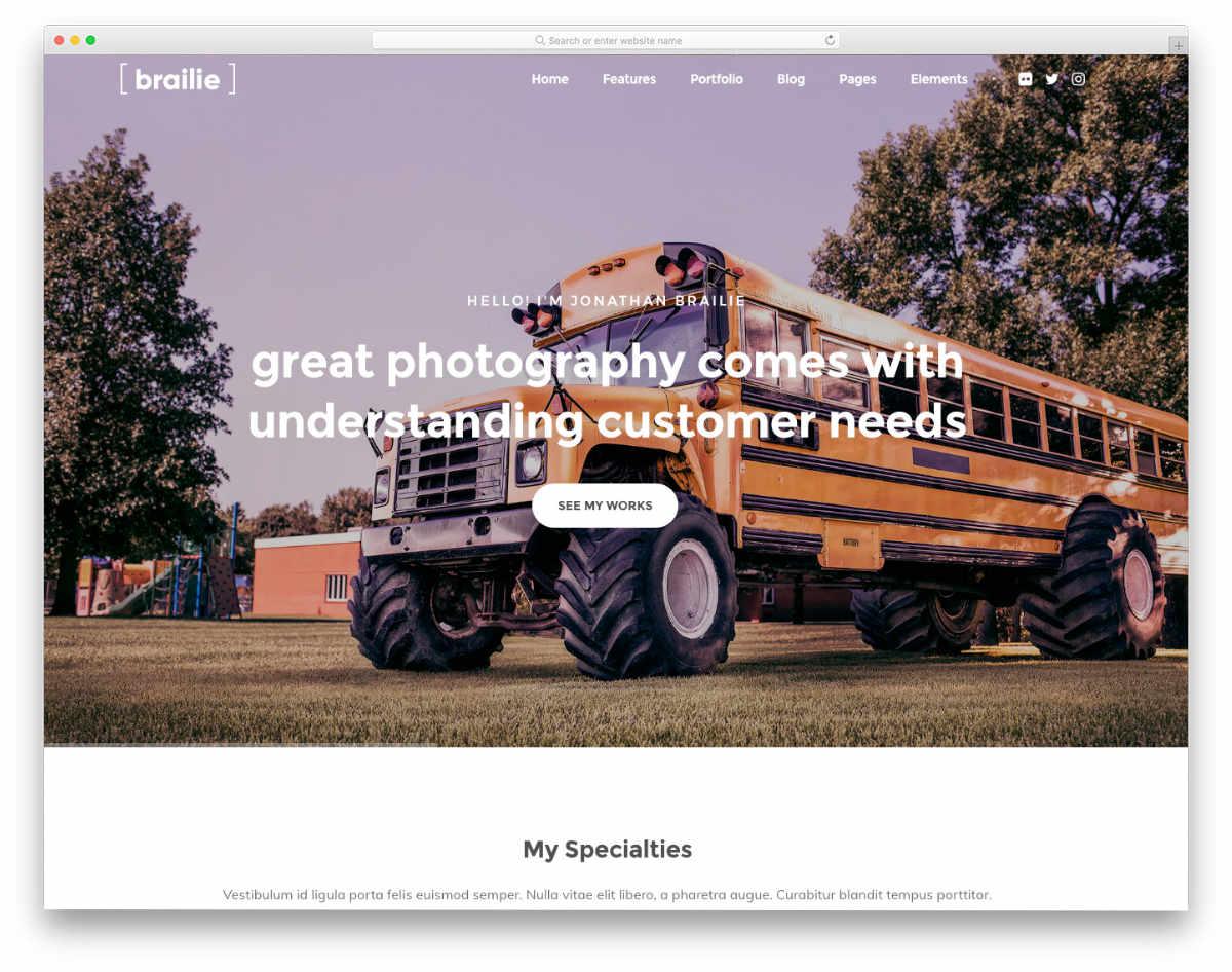 photography Kompozer templates
