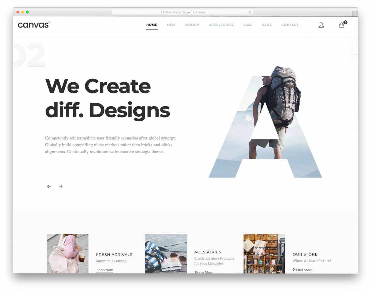 responsive HTML5 templates with useful features