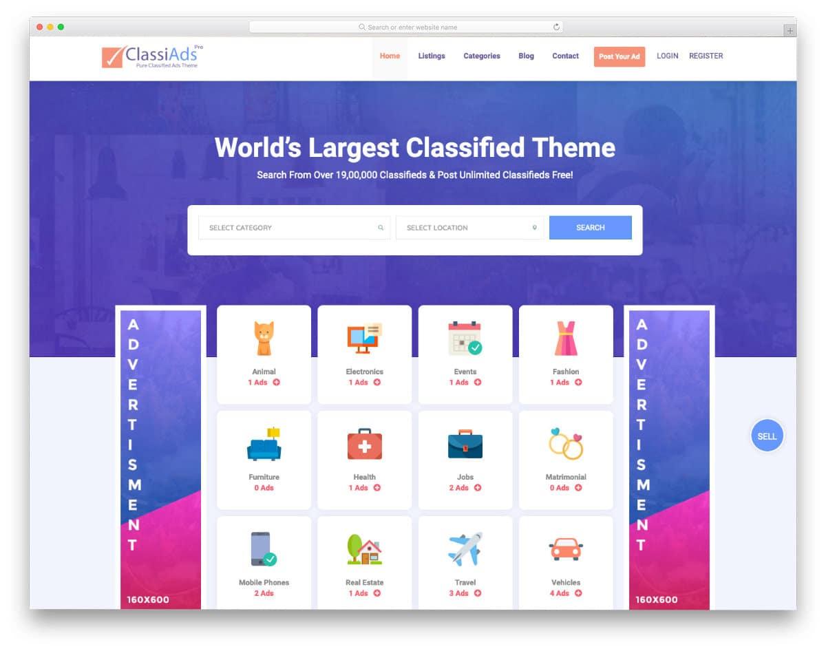 craigs list website templates