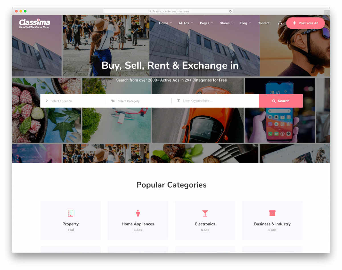 neat and simple craigslist templates