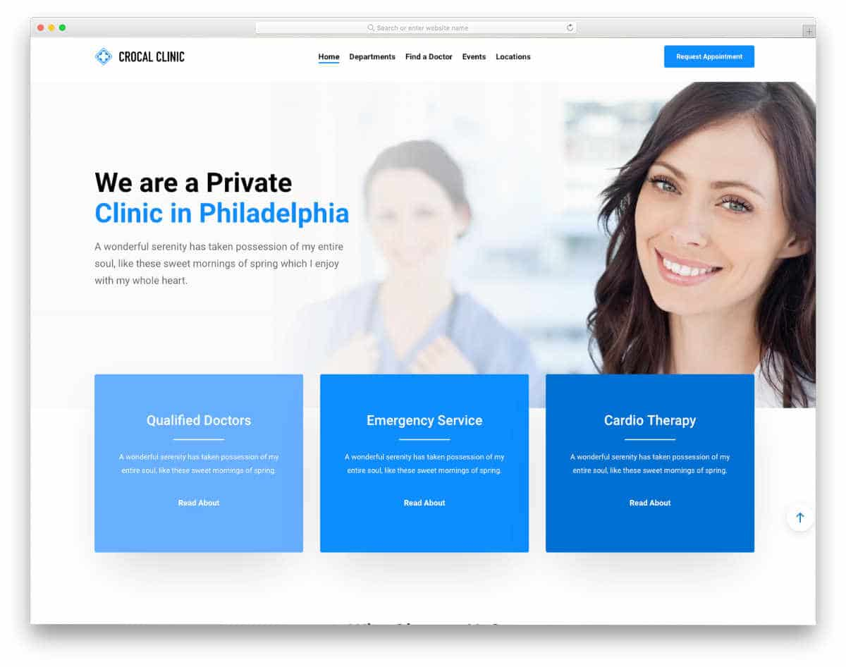 multipurpose appointment scheduling website templates