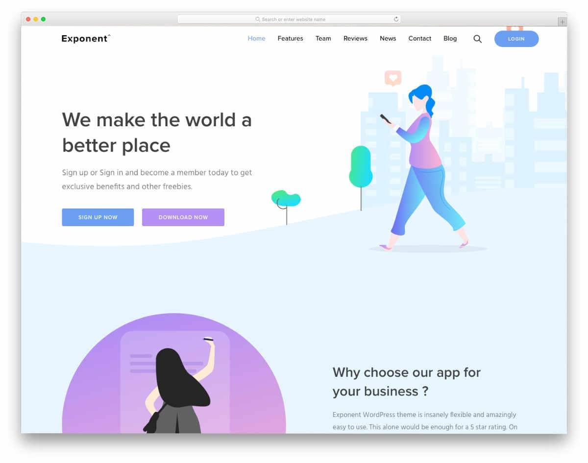 Wysiwyg Web Builder Templates with modern web elements