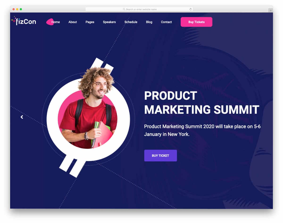 responsive HTML5 templates with interactive design