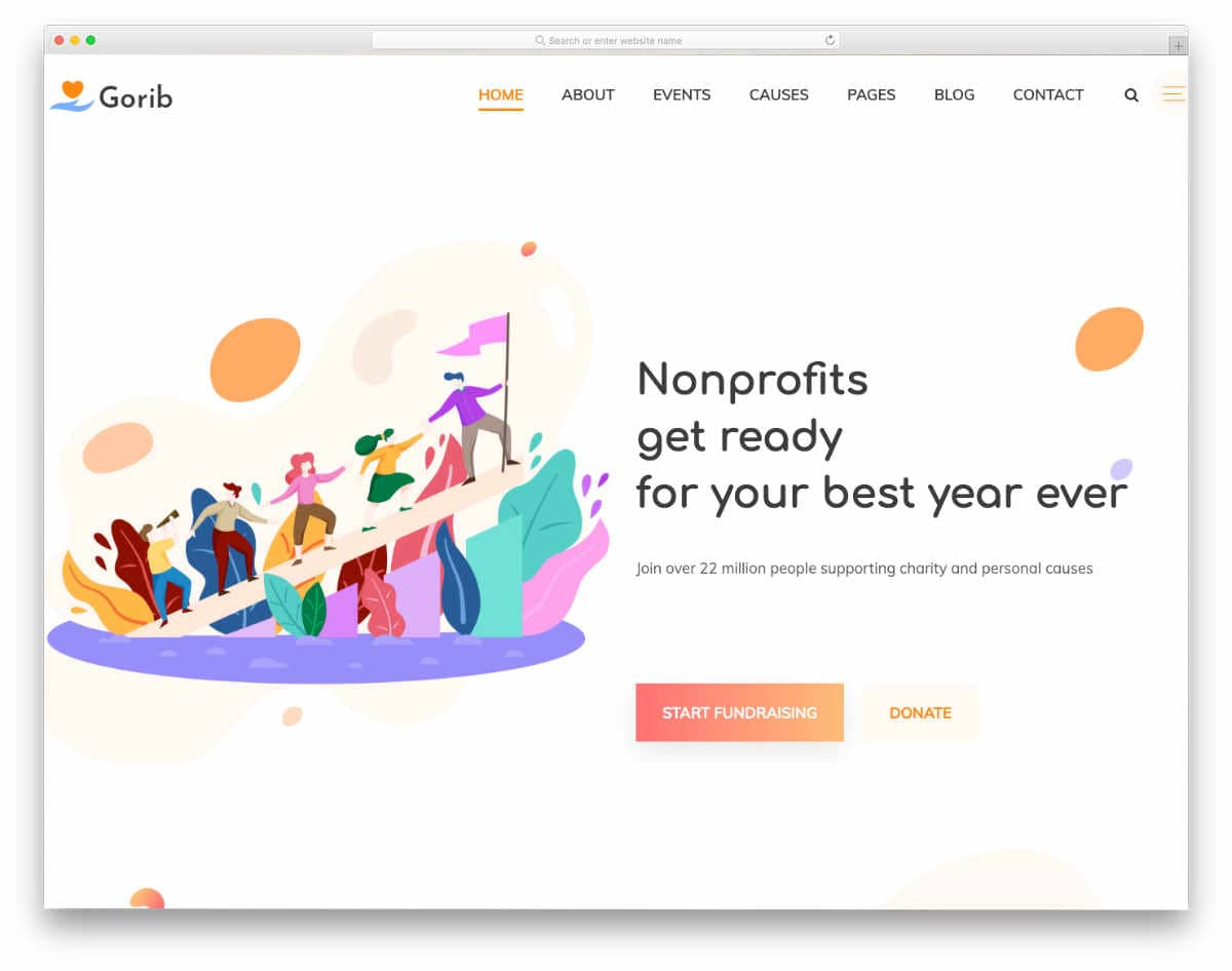 colorful responsive HTML5 templates