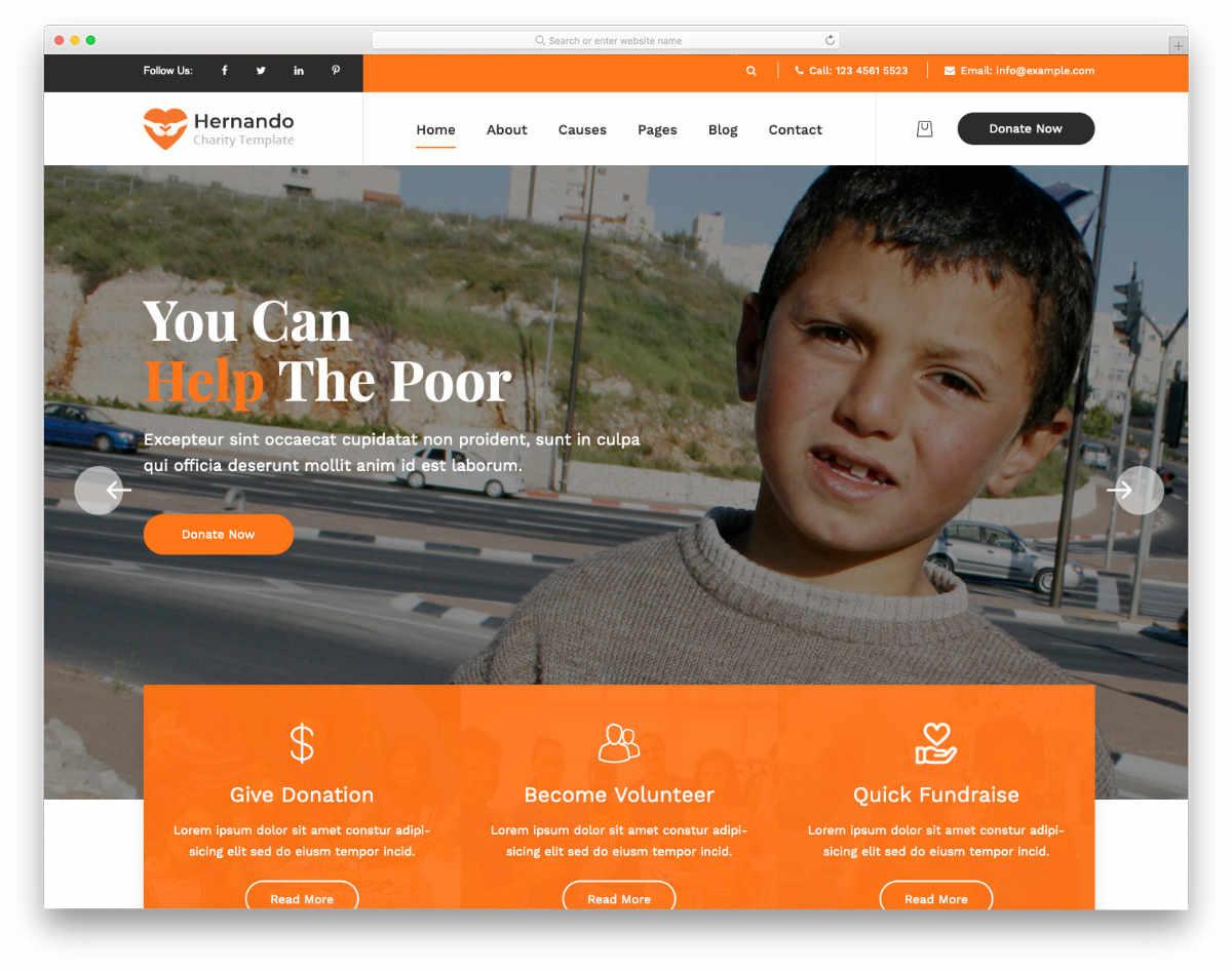 simple and straightforward website templates