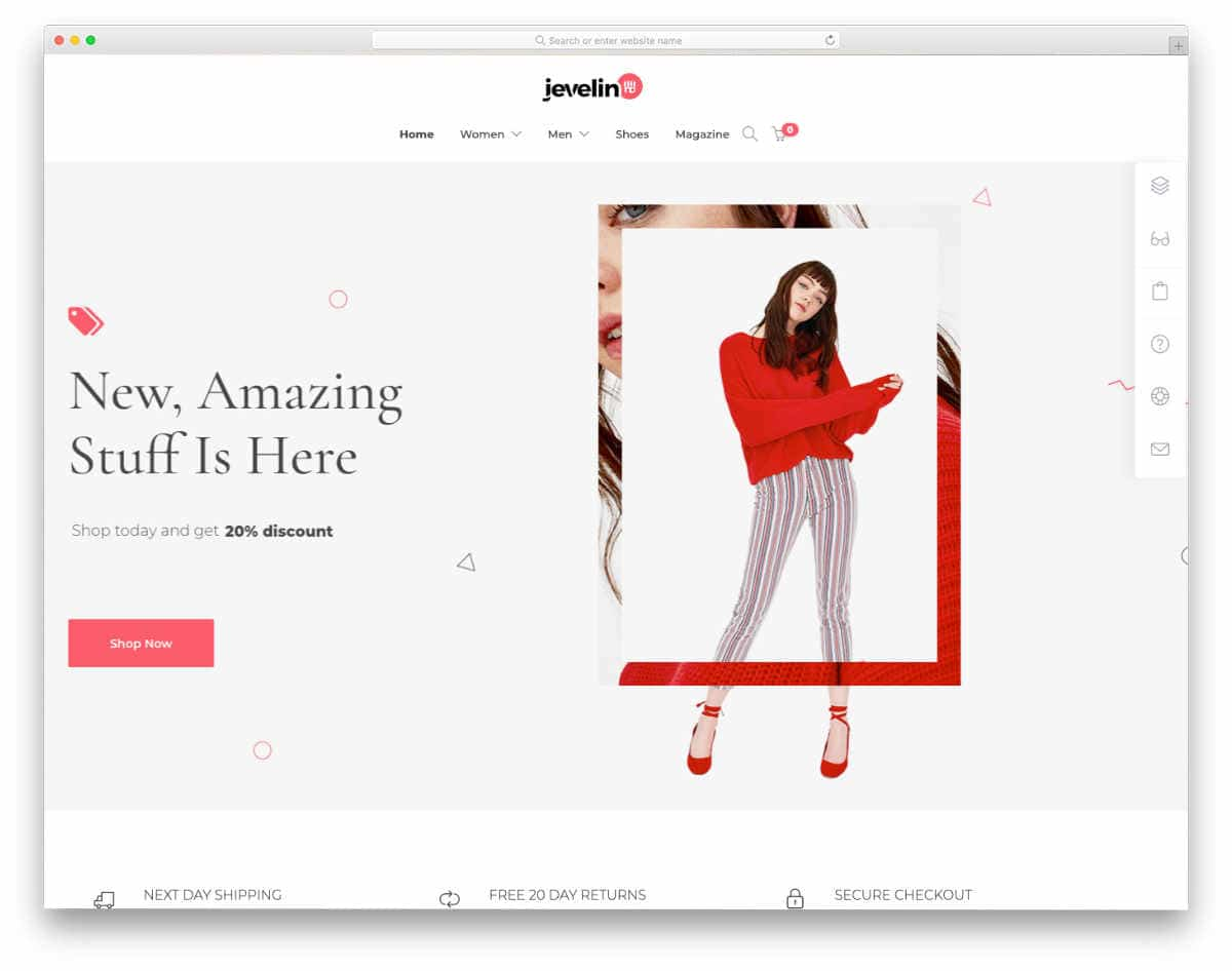 dynamic website template