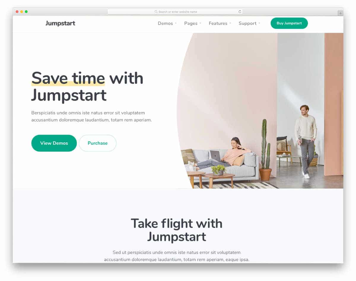 website templates for startups