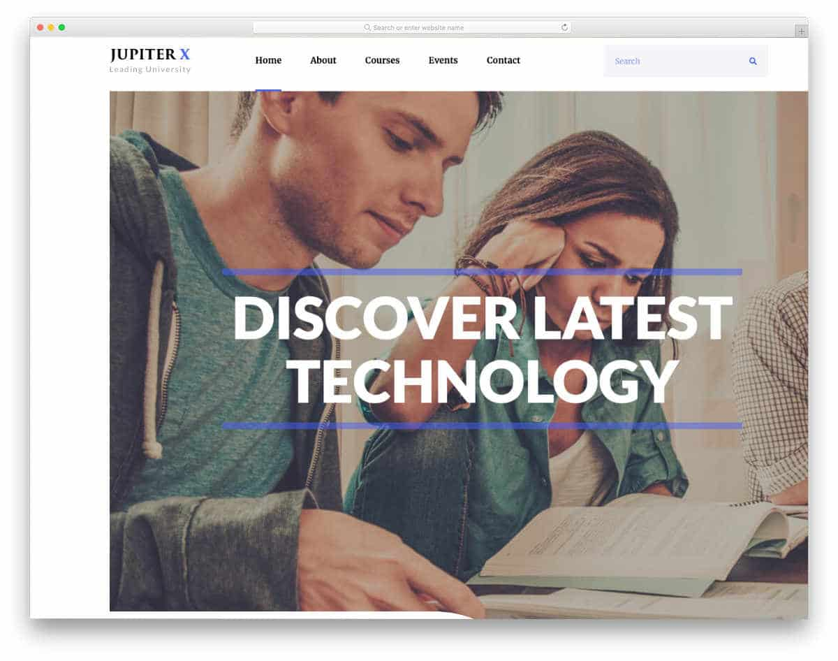 multipurpose website template with multiple pre-designed demos