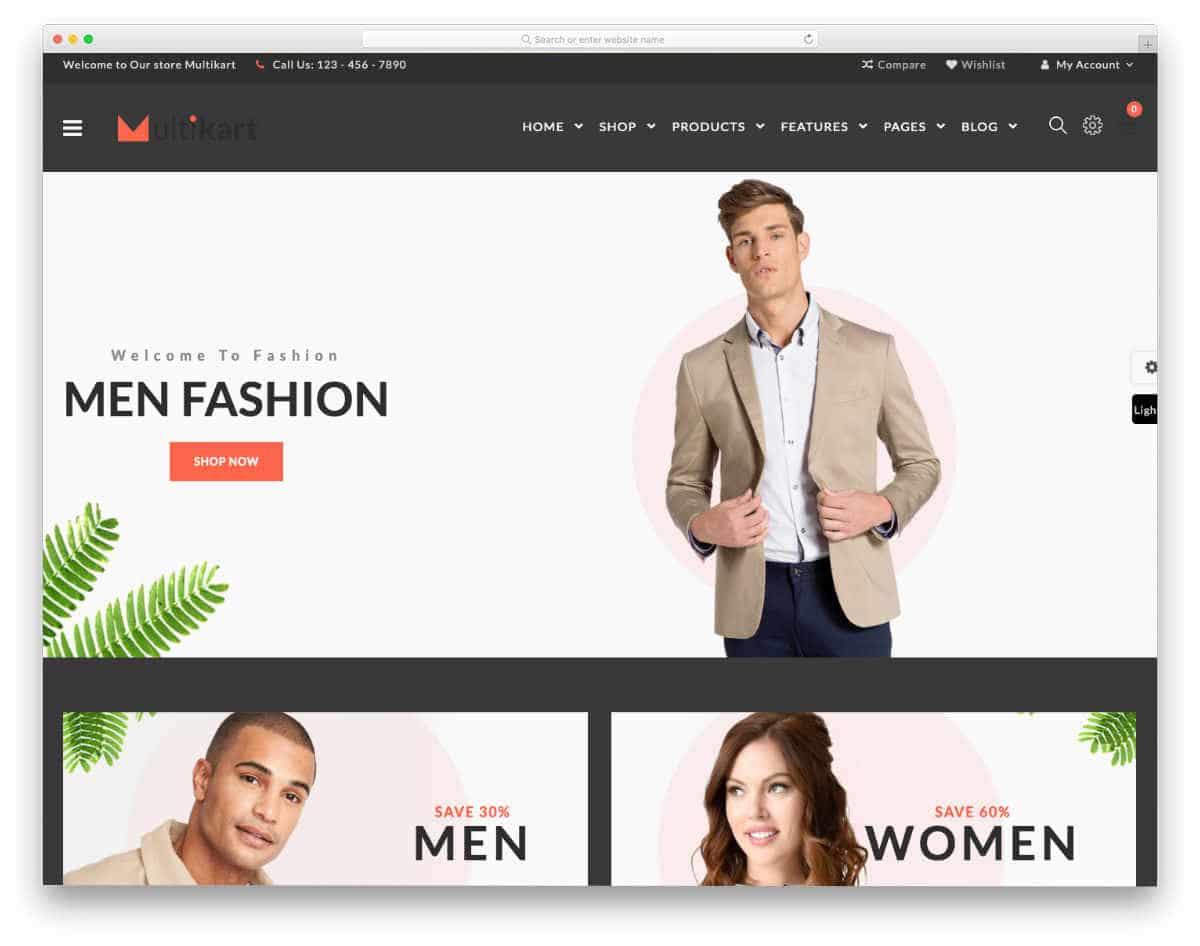 20 engaging react website templates for dynamic websites. Black Bedroom Furniture Sets. Home Design Ideas