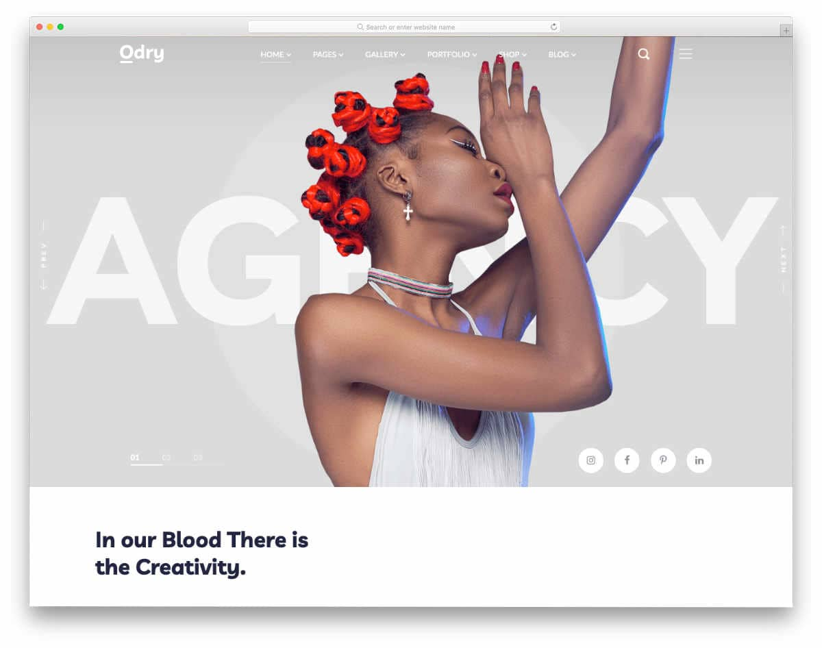 website templates with creative image sliders